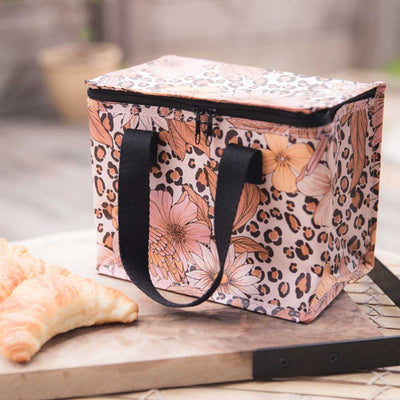 Poly Lunch Box Leopard Floral