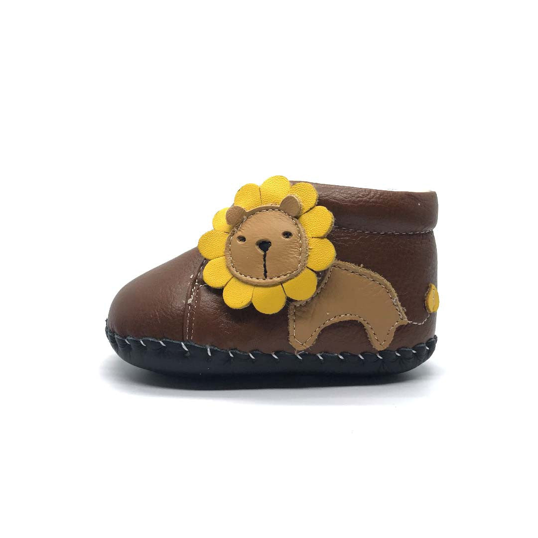 Lion Soft Sole Boots Tan