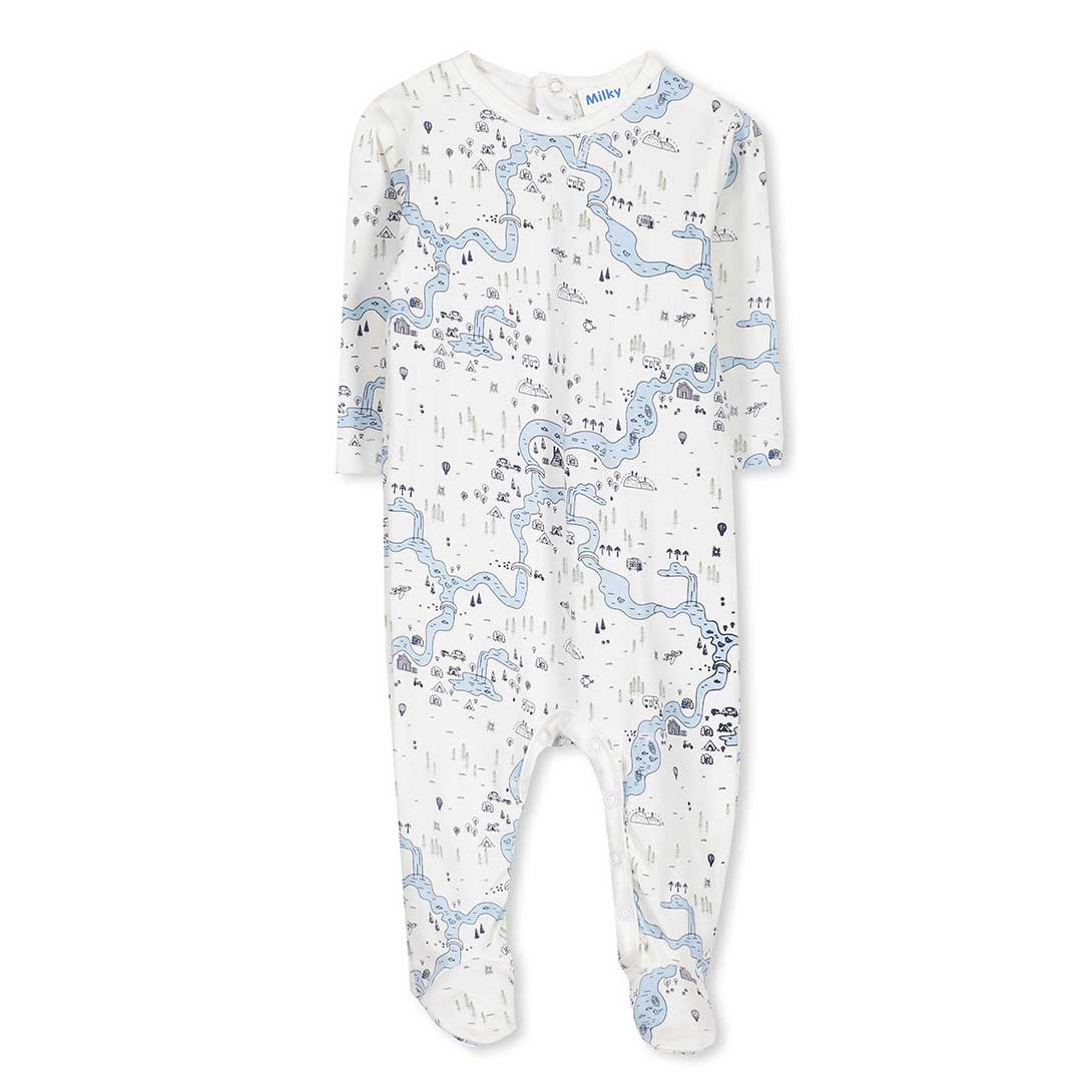 Map Baby Romper