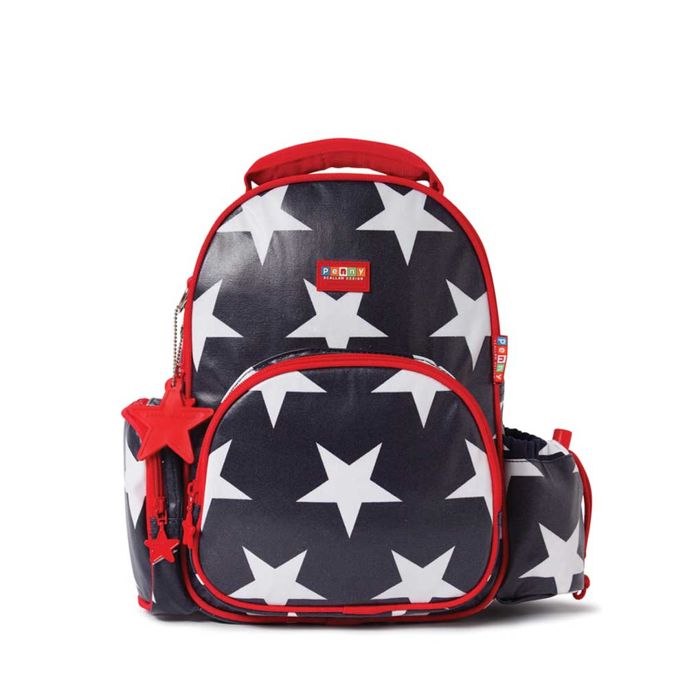 Navy Star Backpack Medium