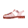 Possession Clear Translucent Pink Unicorn Sandal