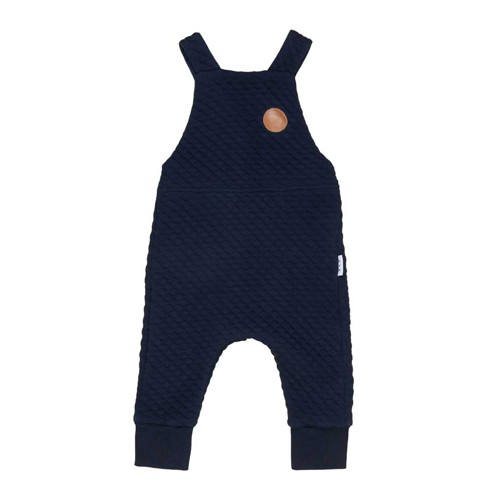 Midnight Stitch Baby Overall