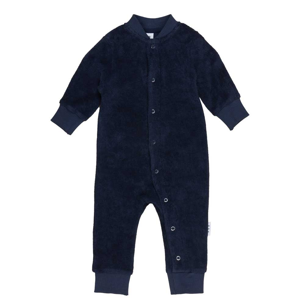 Midnight Terry Baby Romper