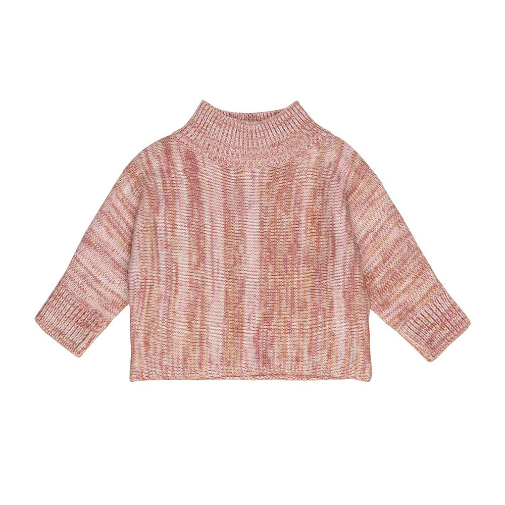 Oat Rose Marl Knit Jumper