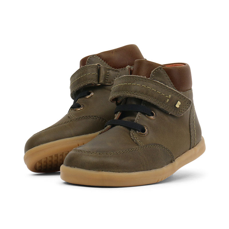 I walk Timber toddler Boots Olive