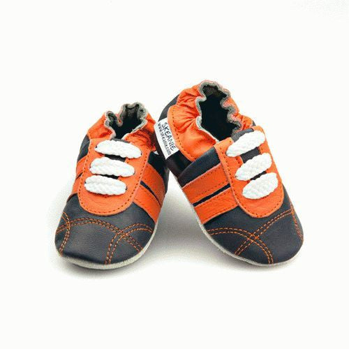 Orange Navy Sneakers