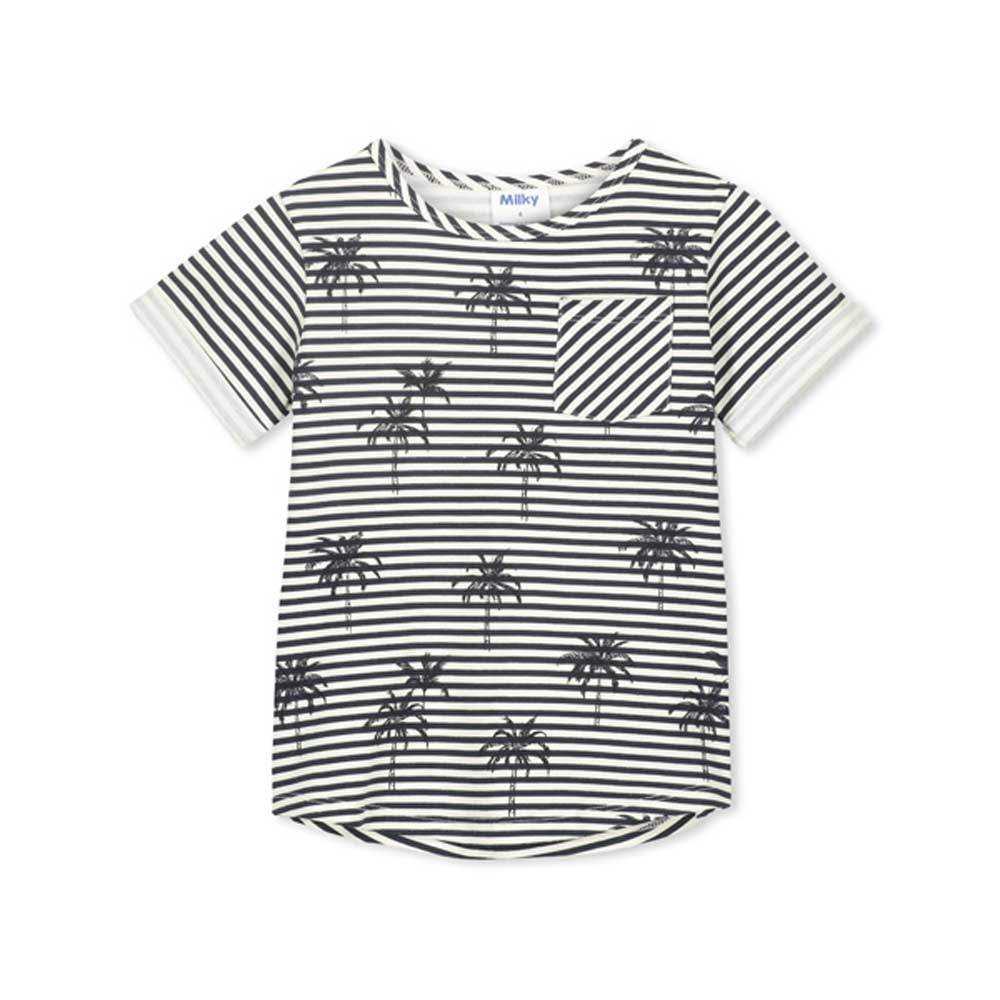 Palm Stripe Tee
