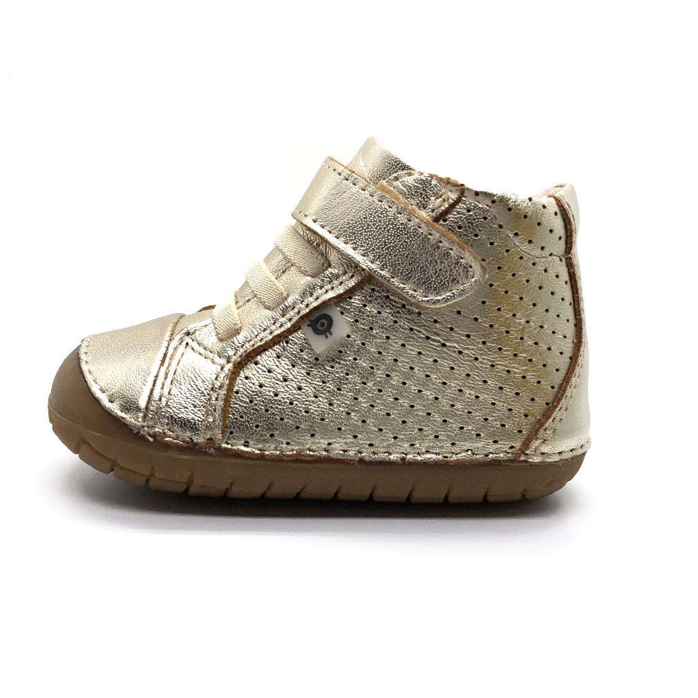 Pave Cheer high top Gold