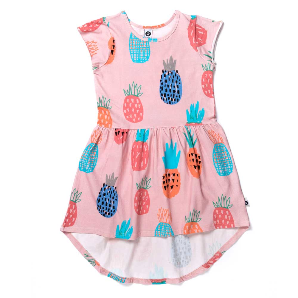Colourful Pineapples Dress