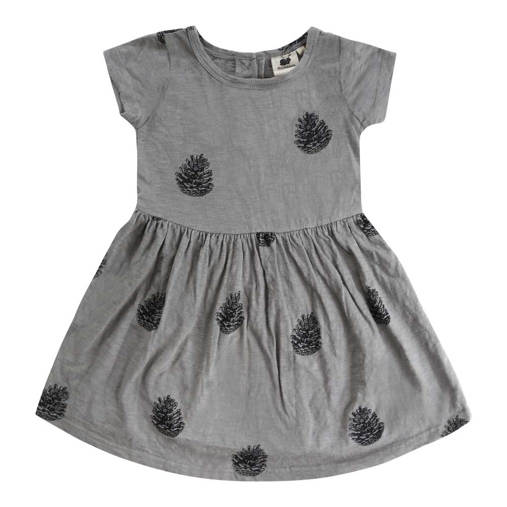 Organic Pinecone Summer Dress