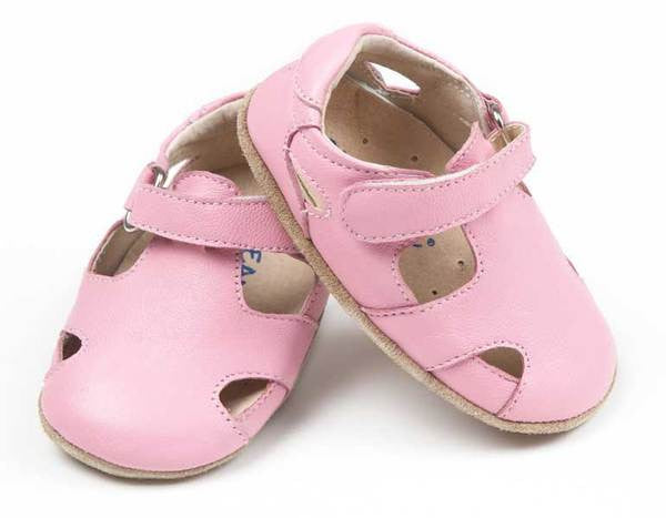 Pink Sunday soft soled sandals