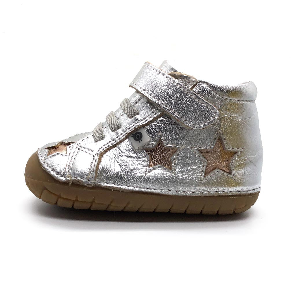 Reach Pave High Top Silver/Copper