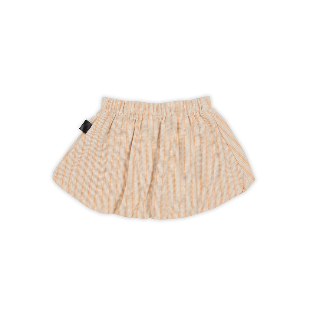 Retro Stripe Bubble Skirt