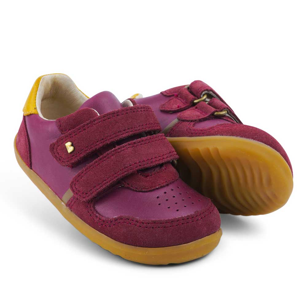 I walk Riley Kids Sneaker Boysenberry