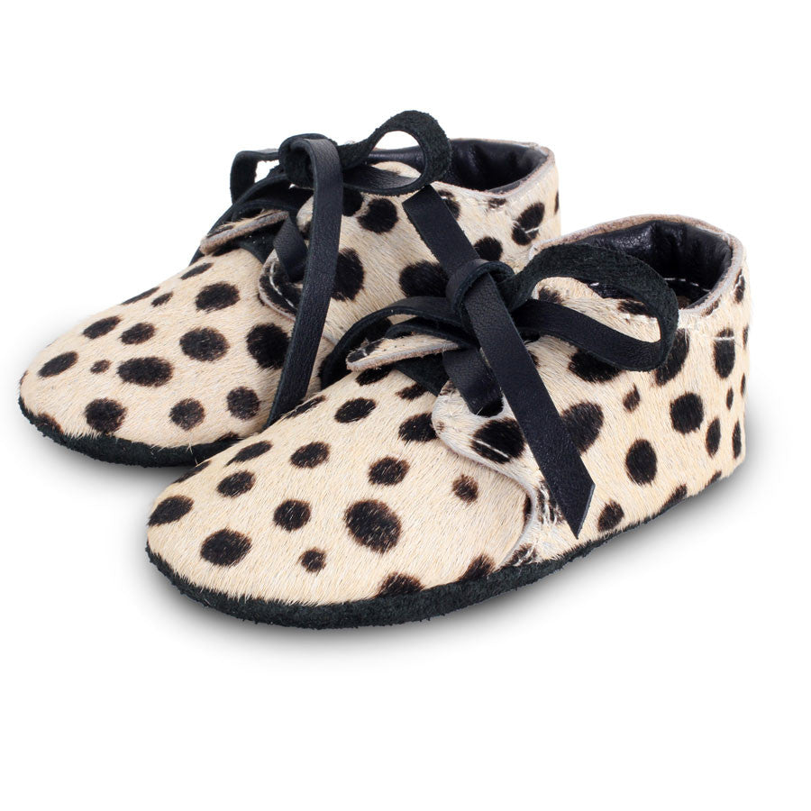 Safari Lined Baby Shoe Dalmatian