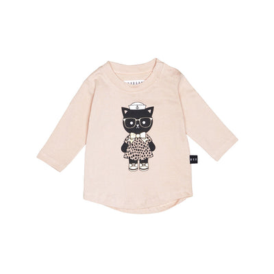 Sailor Cat Long Sleeve Top
