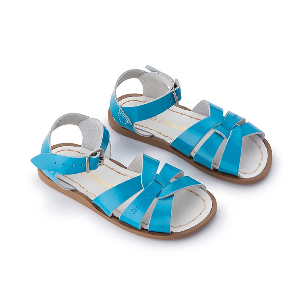 Saltwater Sandal in Turquoise