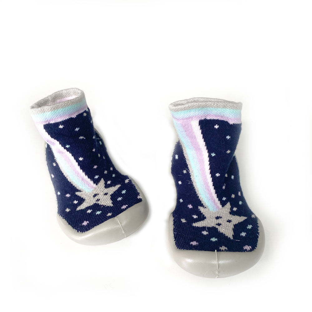 Shooting Star Slipper Sock