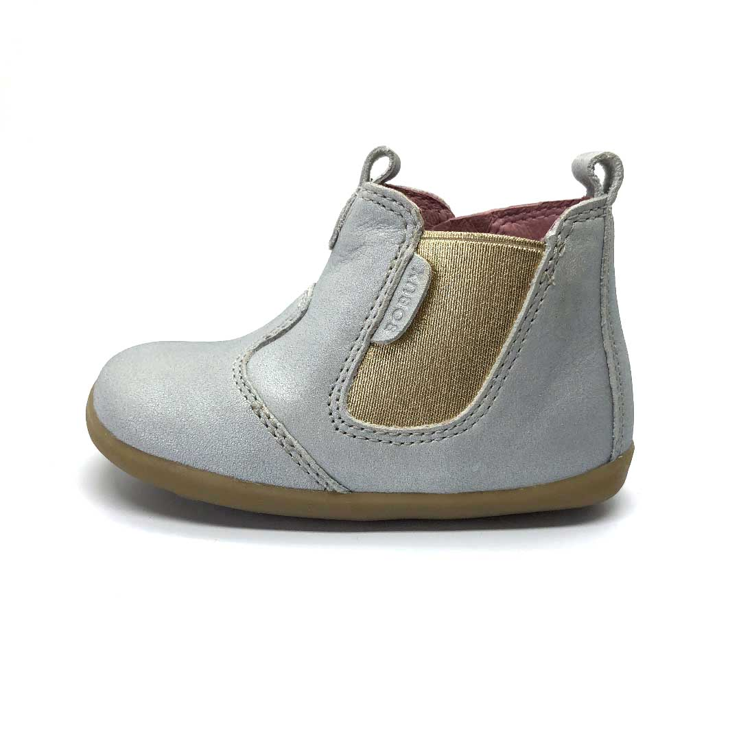 Step Up Jodphur Boot Silver Shimmer