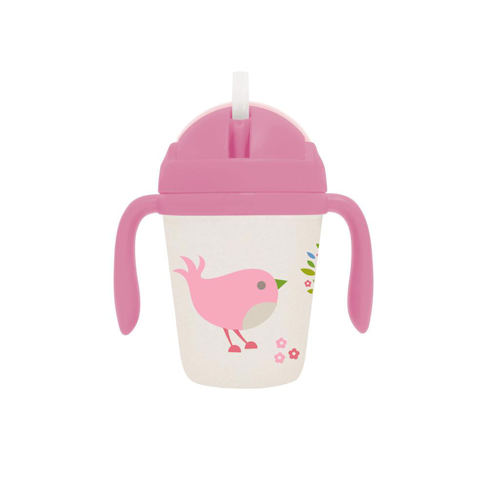 Chirpy Bird Bamboo Sippy Cup