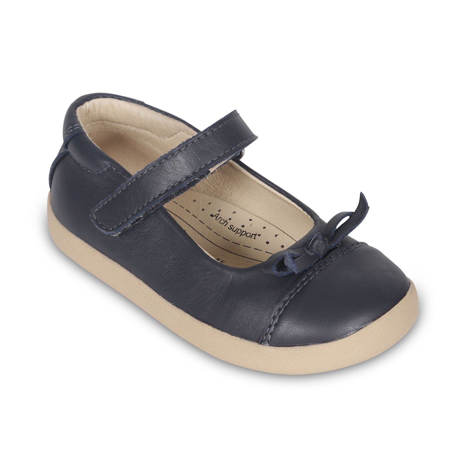 Sista Flat Shoes In Navy