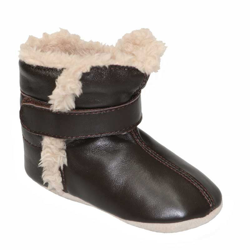 Infant Snug Boots In Brown