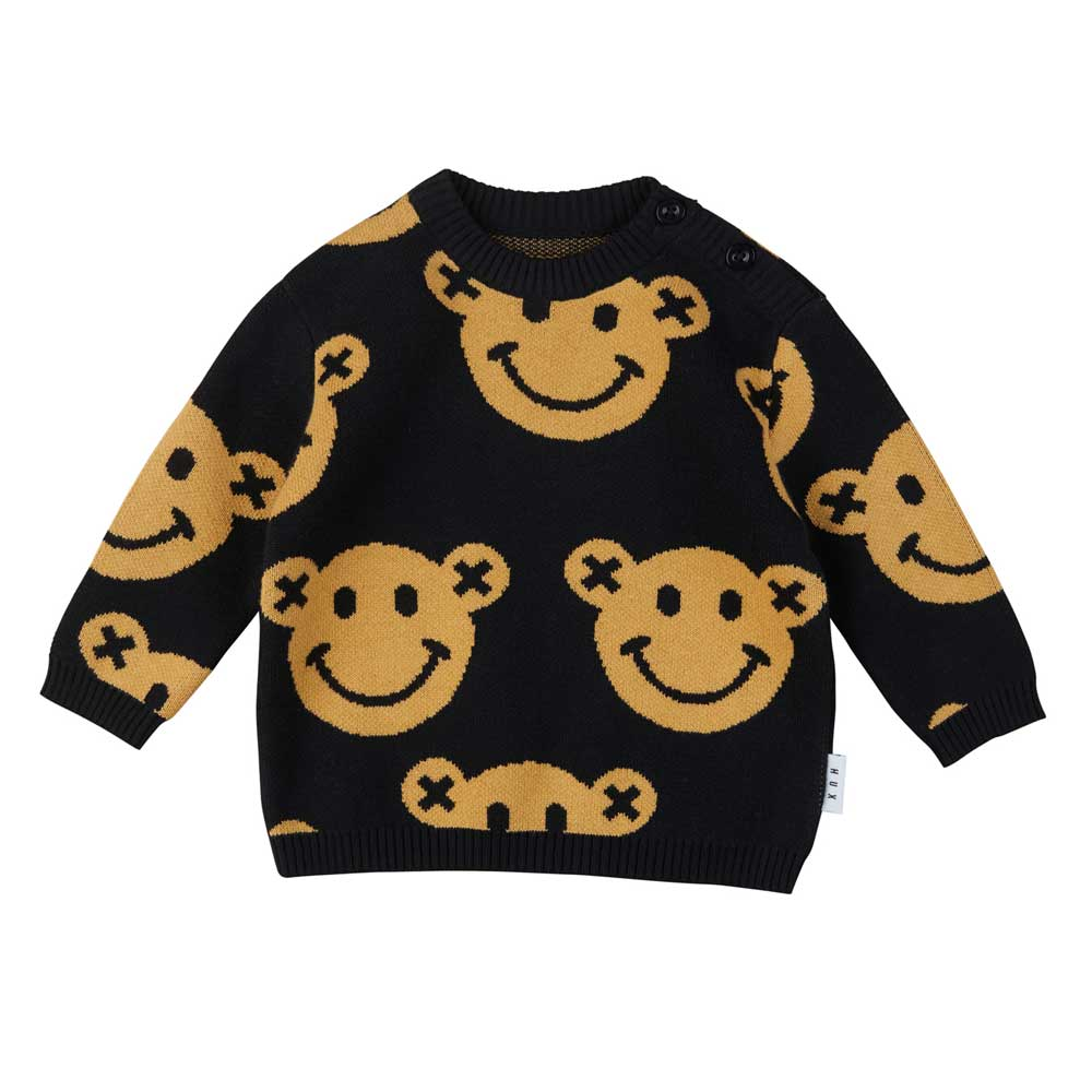 Smiley Knit Jumper