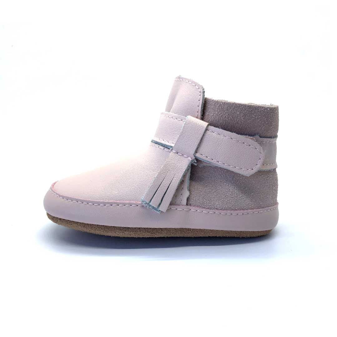 Snow Baby Boot Dusty Pink