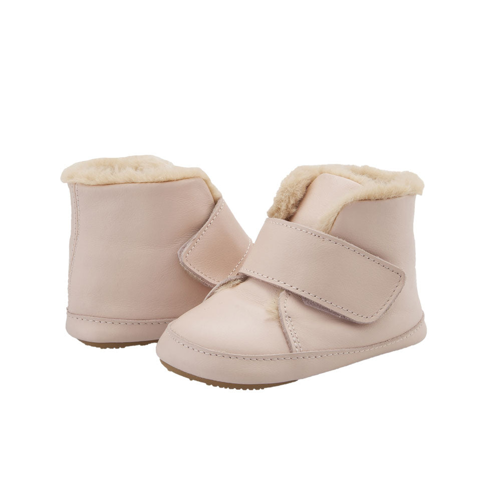Softly Baby Boot Powder Pink