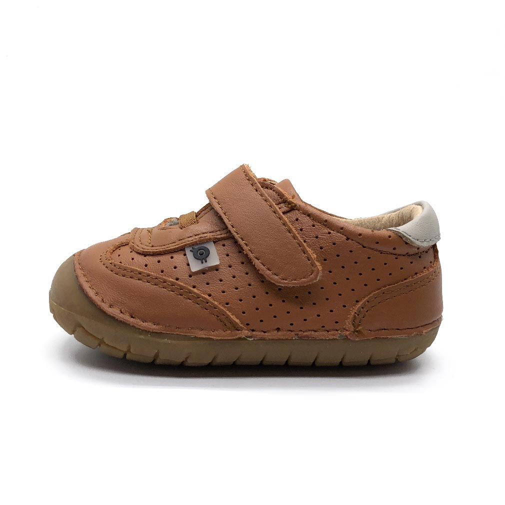 Sporty Pave Toddler Shoe Tan/Gris
