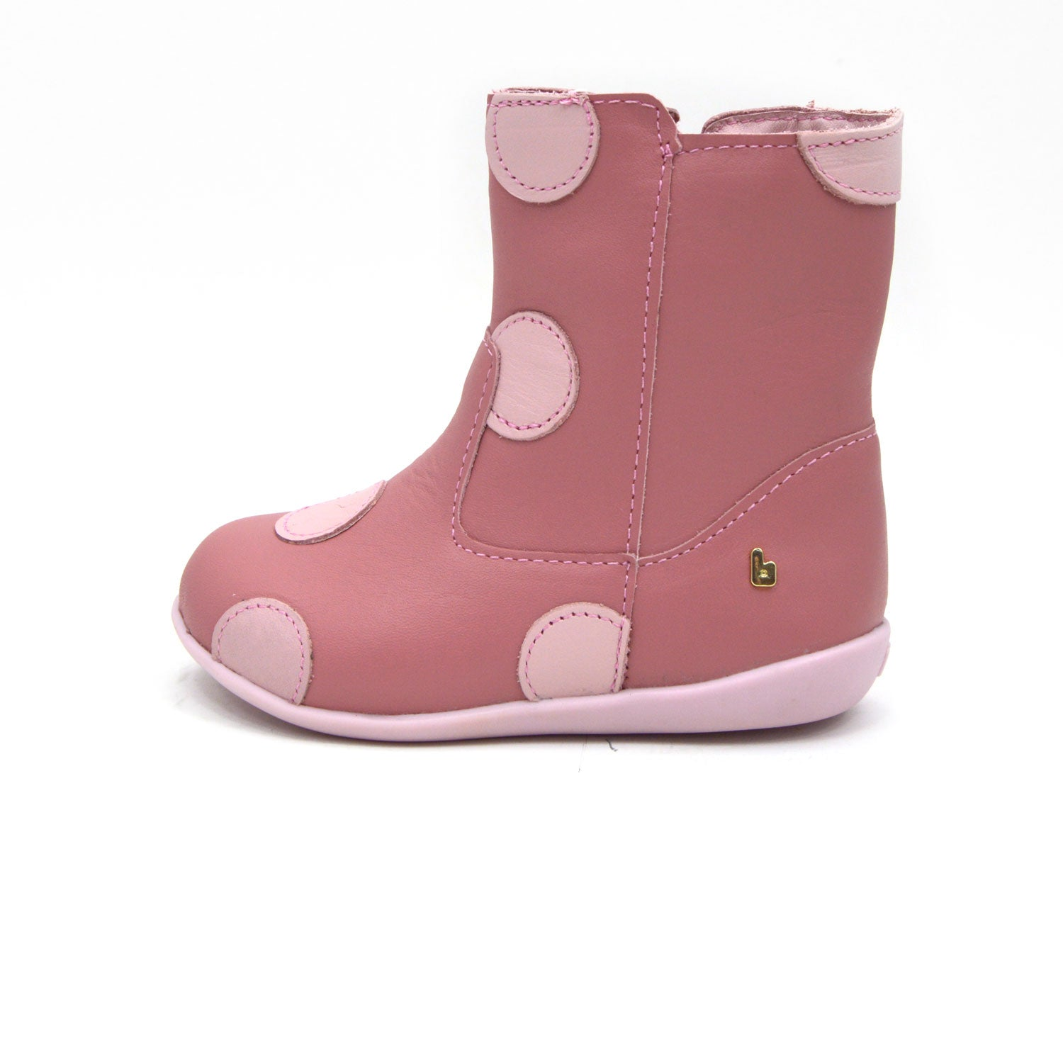 Pink Spot Toddler Boot