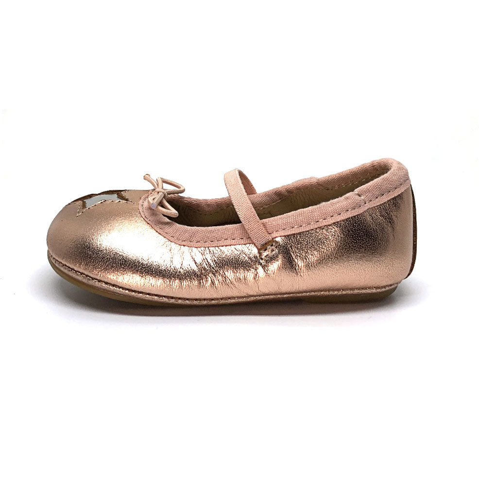 Bambini Cruise Star Ballet Flat Copper