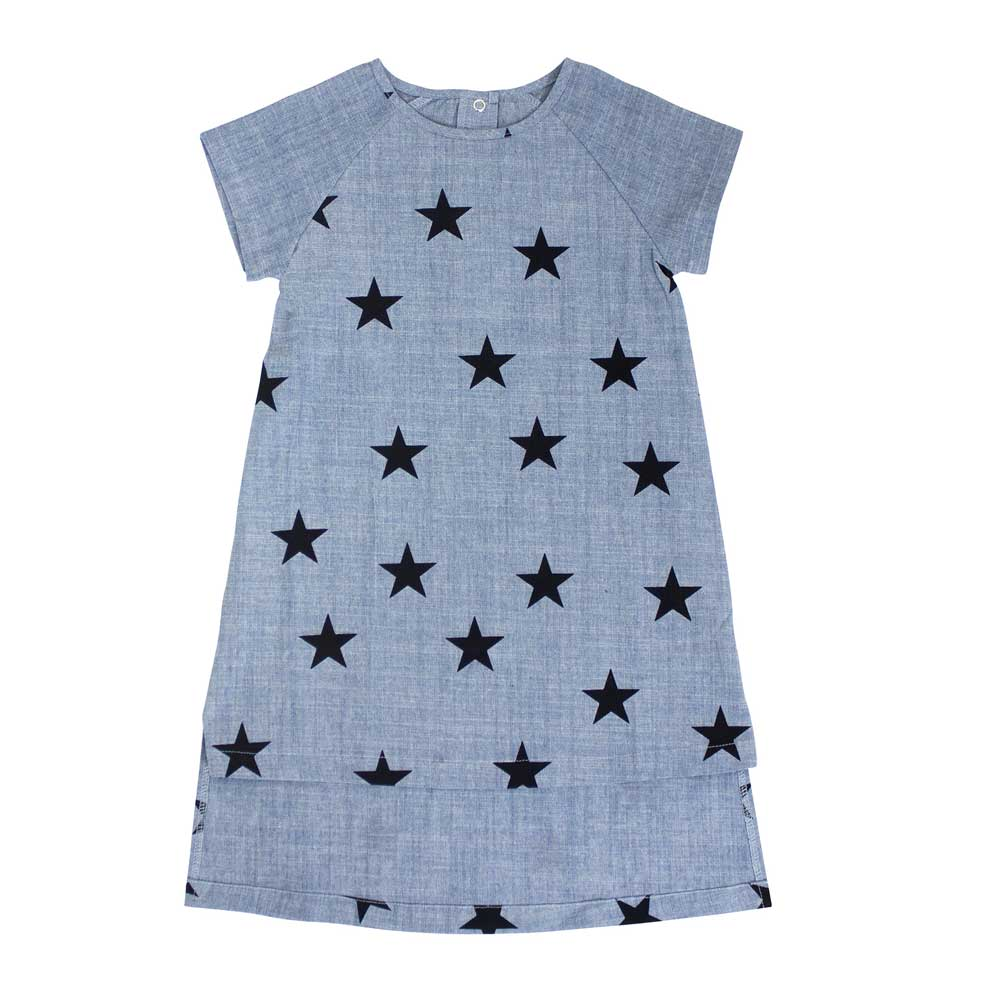 Star Chambray Dress