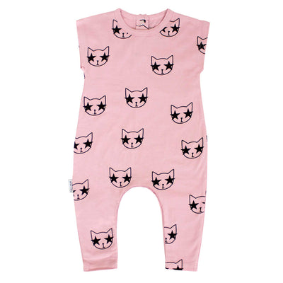 Star Cat Playsuit