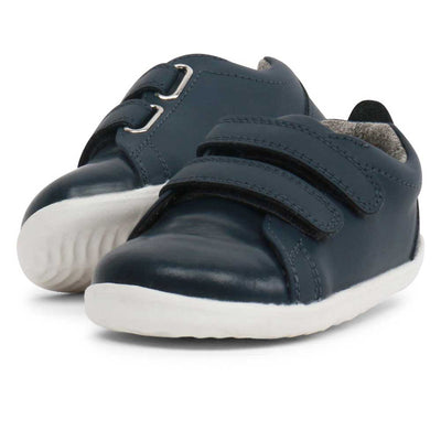 Step Up Waterproof Grasscourt Sneaker Navy