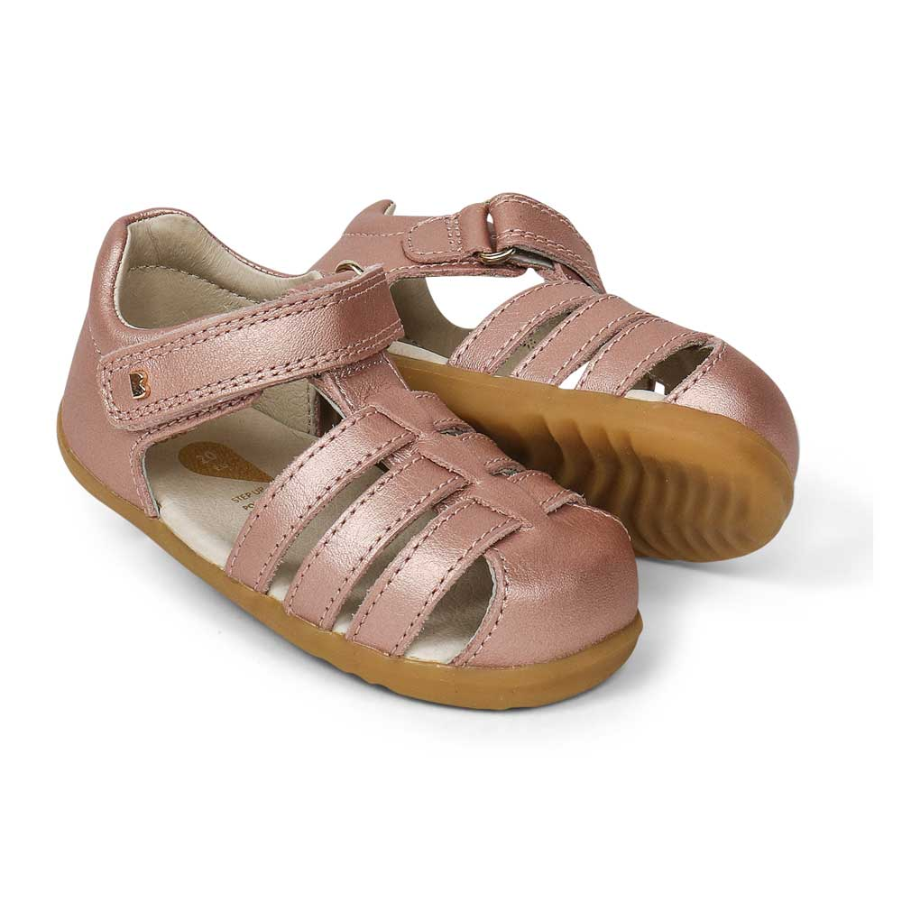 Step Up Jump Sandal Rose Gold