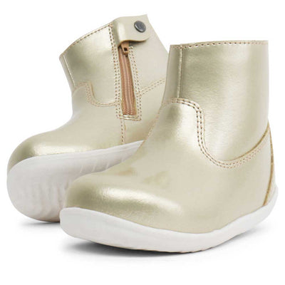 Step Up Paddington Waterproof Boot Gold