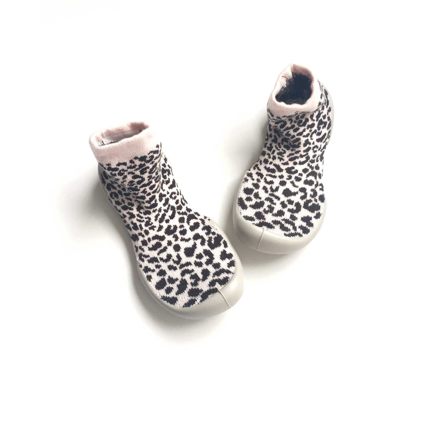 Collegien Sweet Leopard Slipper Sock
