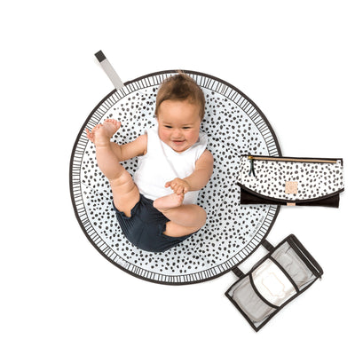 The Round-About Nappy Clutch- Spots