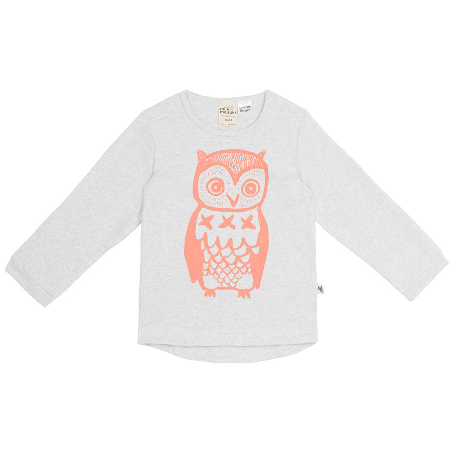 Owl Toddler Tee