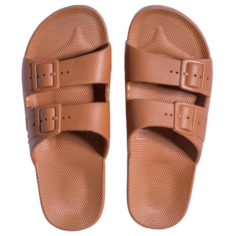 Womens Summer Slide Toffee