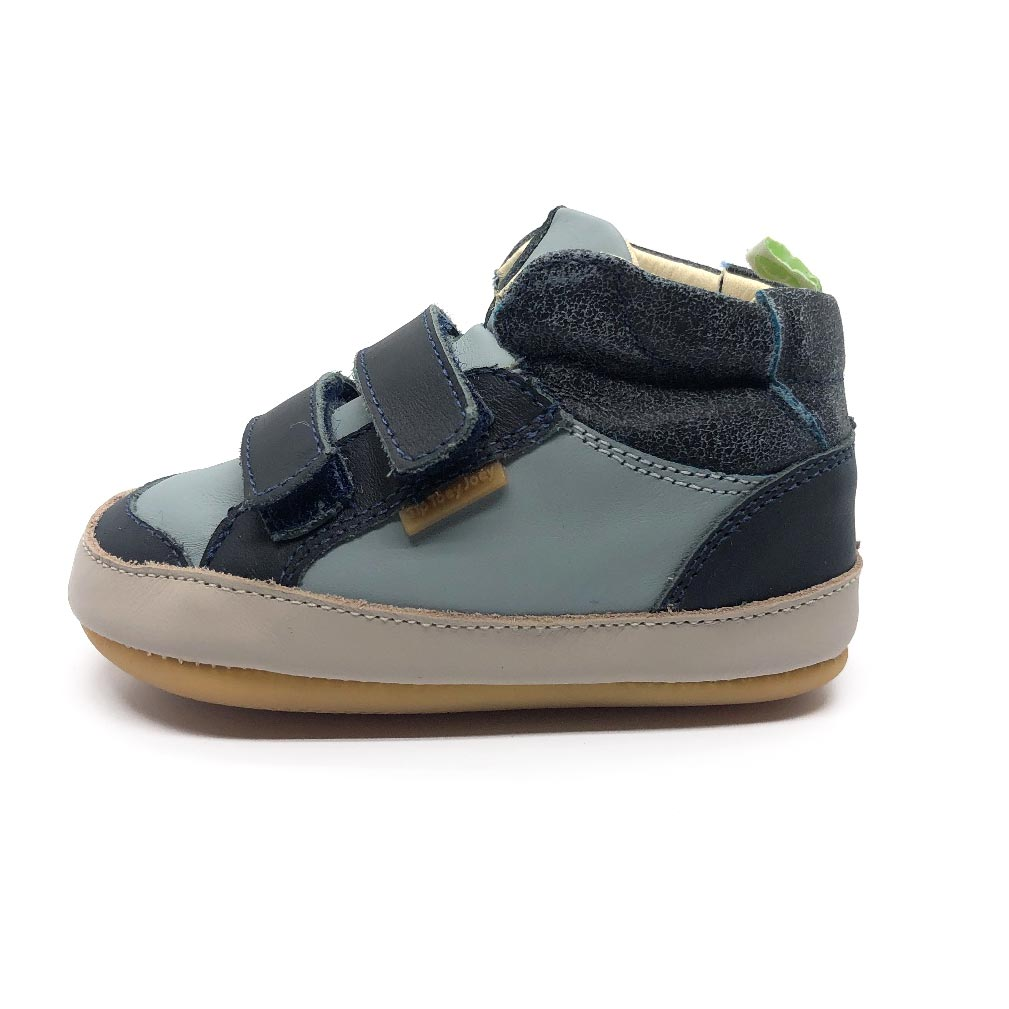 Towny Toddler High Top Navy/Slate