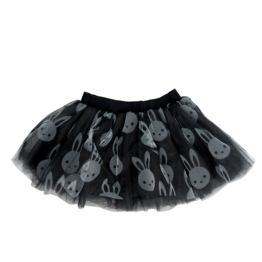 Bunny Tulle Skirt Black