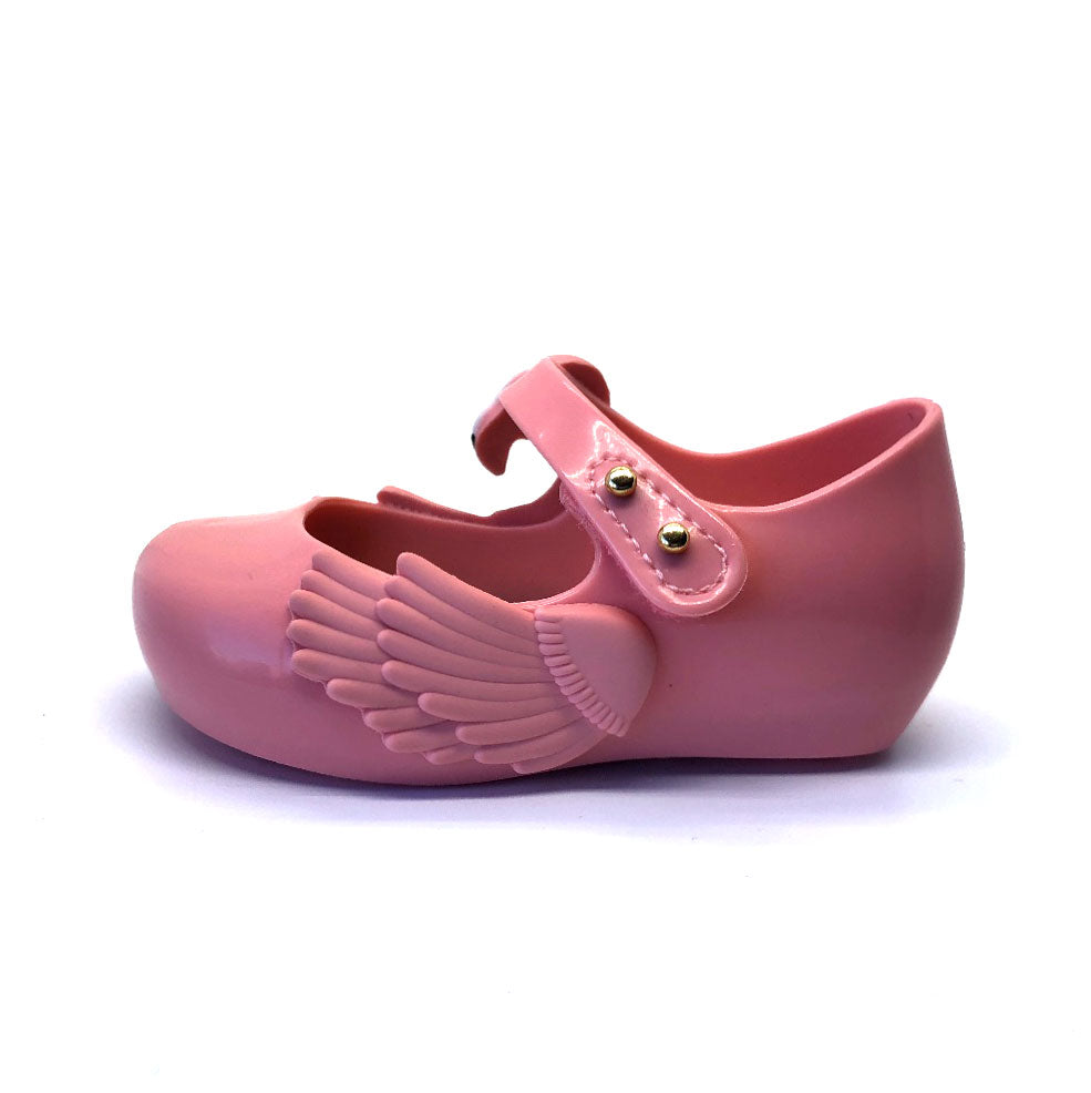 Ultragirl Pink Flamingo girls shoe pink gloss