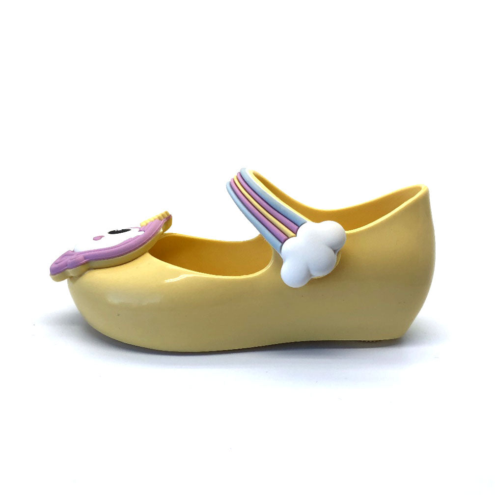 Ultragirl Unicorn Girls Shoes Yellow Gloss
