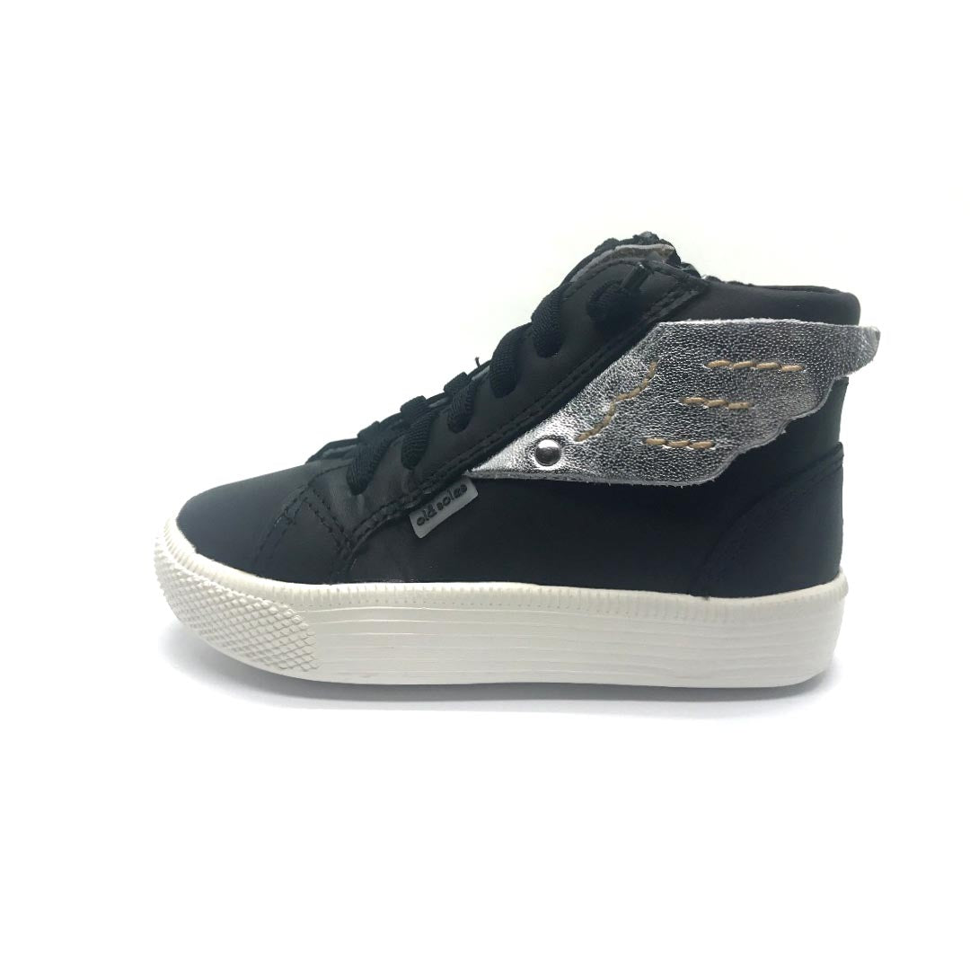 Urban Wings High Top Black/Silver