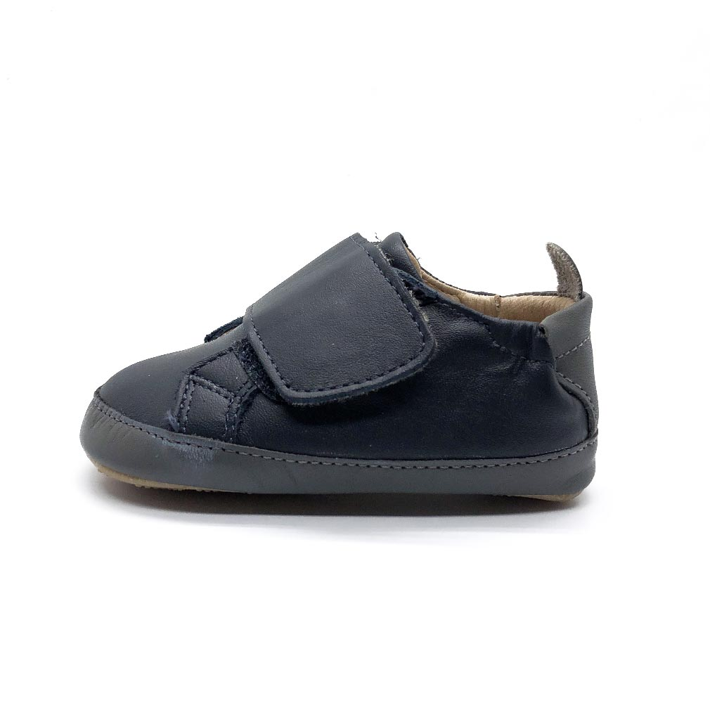 Wendle Baby Shoe Navy/Grey