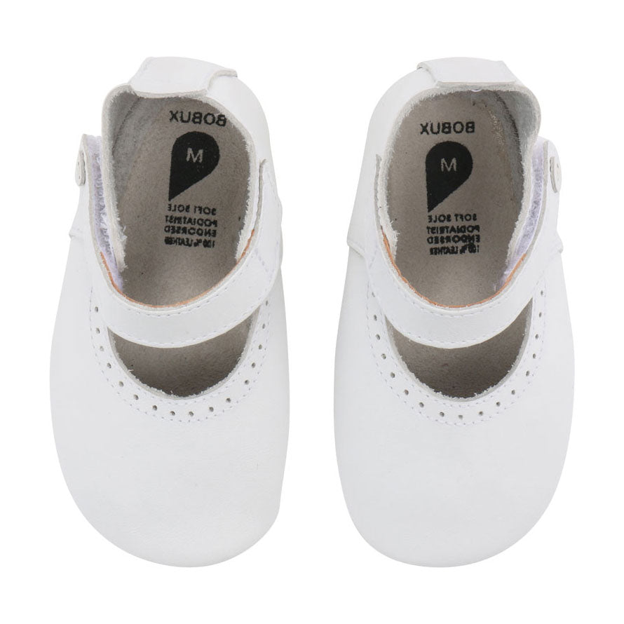 White Delight Soft Sole Baby Shoe