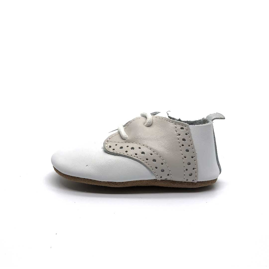 Oxford Baby Shoe White
