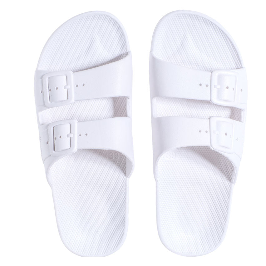 Kids Summer Slide White